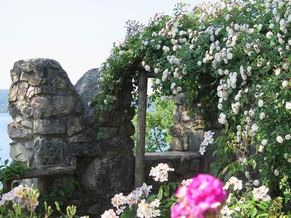 Rocca Angera Giardino Medievale