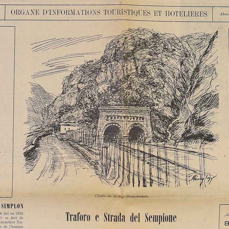 1906 - Simplon Tunnel