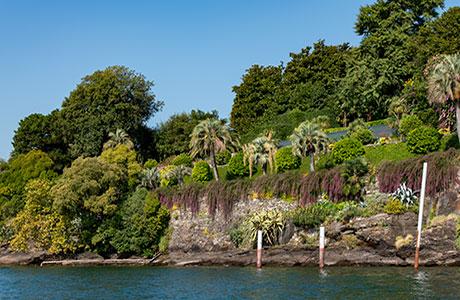 terrazze del giardino dell'Isola Madre