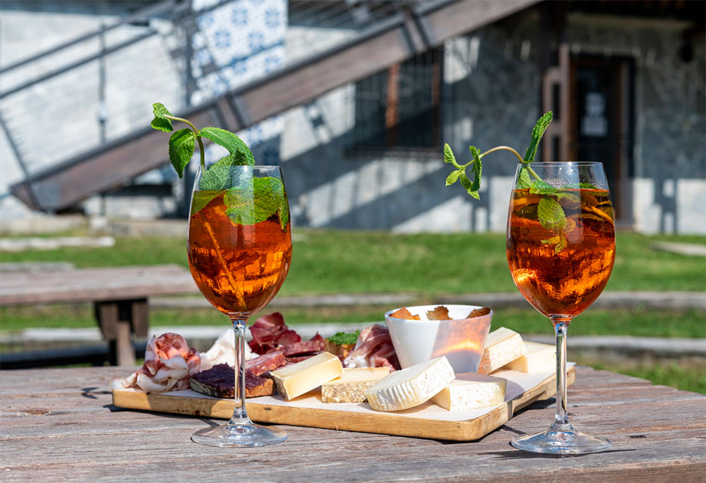 aperitivo rifugio genziana