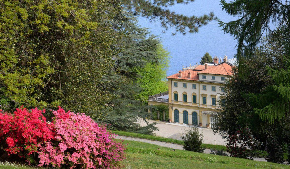 Villa and Park Pallavicino 100% owned by Borromeo