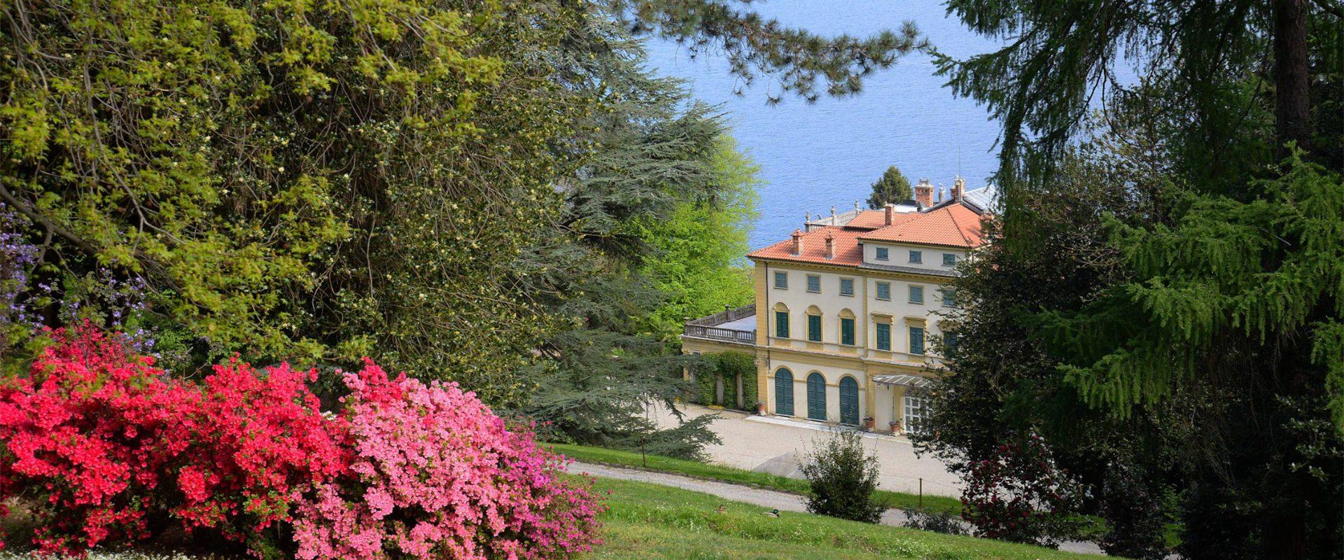 Villa und Parco Pallavicino 100% Eigentum Borromeo