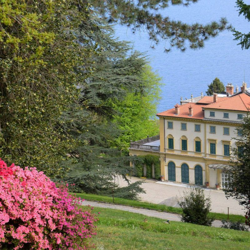 Villa and Park Pallavicino 100% owned by Borromeo